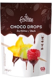 Choco Drops Fondue-Schokolade | Confiserie-Qualität | von Frutree